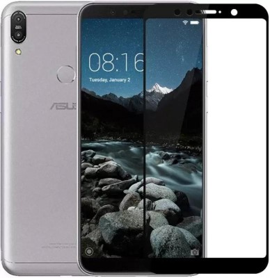 Ultimate Edge To Edge Tempered Glass for Asus ZenFone Max M1 10D Original, Made with peftect edge to edge curve finish for smooth touch experience(Pack of 1)