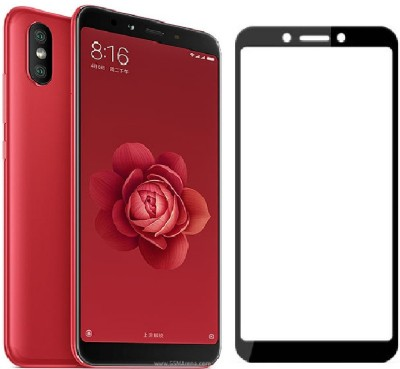 Mobizworld Screen Guard for Mi A2(Pack of 1)