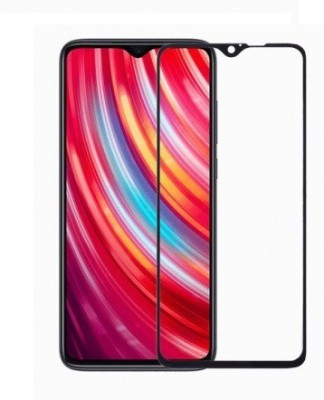 U-Verse Tempered Glass Guard for Redmi Note 8 Pro (Black)(Pack of 1)