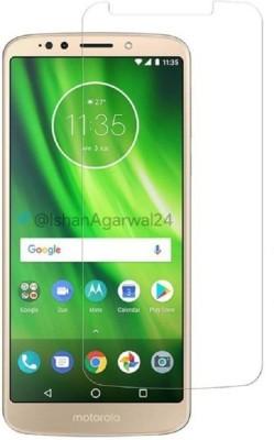 Mobizworld Tempered Glass Guard for Motorola Moto G6 Play(Pack of 1)