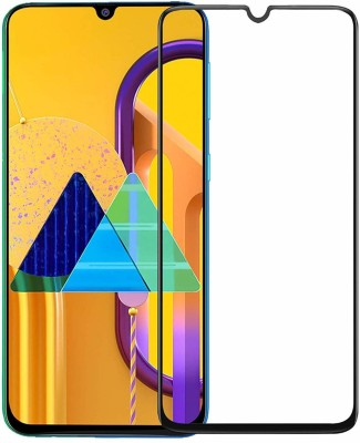 Mobilive Tempered Glass Guard for Tempered Glass Screen Protector Full HD Quality Edge to Edge Coverage for Samsung Galaxy M30s(Pack of 1)