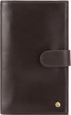 Hidesign Men Brown Genuine Leather Document Holder(11 Card Slots)