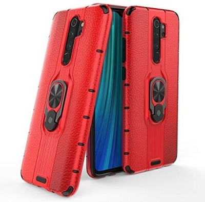 Wellpoint Back Cover for MI Redmi Note 8 Pro, Plain, Case, Cover(Red, Grip Case)