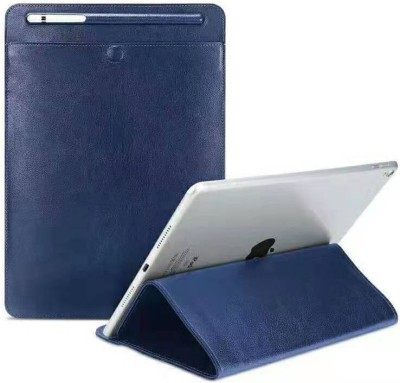 Realtech Sleeve for Samsung Galaxy Tab 4 10.1 2014 (SM-T530/T531/T535)(Blue, Cases with Holder)