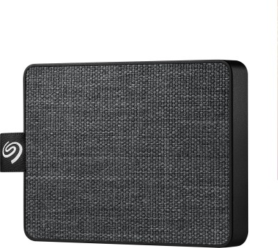 Seagate One Touch 500 GB External Solid State Drive(Black)