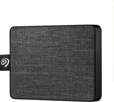 Seagate One Touch 1 TB External Solid State Drive(Black)