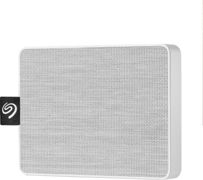 Seagate One Touch 500 GB External Solid State Drive(White)