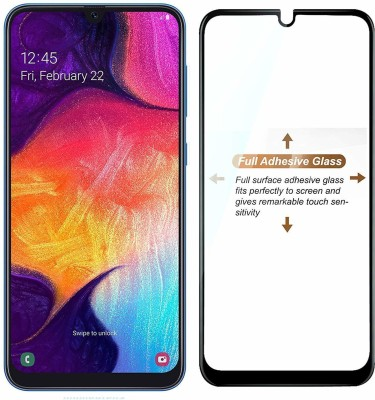 Express Buy Edge To Edge Tempered Glass for Samsung Galaxy A70s(Pack of 1)