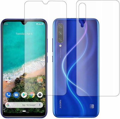 Praksh Front and Back Screen Guard for Xiaomi Redmi Mi A3(Pack of 2)