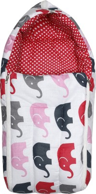 Miss & Chief Baby Elephant Pink Sleeping Bag(Pink)