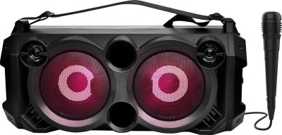 boAt PartyPal 60 20 W Bluetooth Party Speaker(Space Black, Stereo Channel)