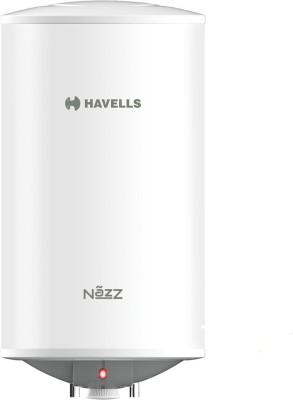 Havells 15 L Storage Water Geyser (NAZZ, White, Grey)