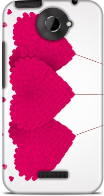 Flipkart SmartBuy Back Cover for HTC one X(White, Pink)