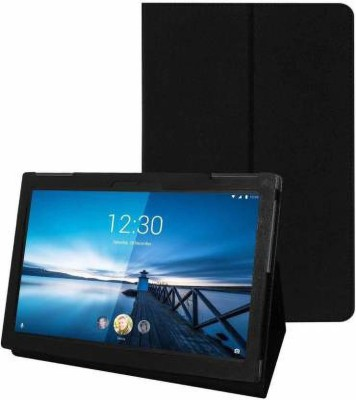 Cutesy Flip Cover for Lenovo Tab M10 HD Tablet (10.1 inch, 32GB, Wi-Fi + 4G LTE)(Black)
