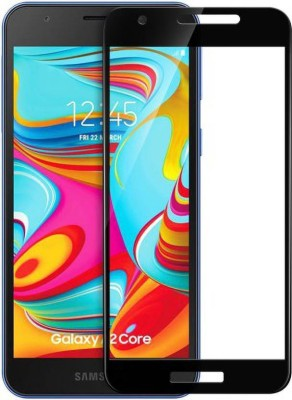 Binzokase Edge To Edge Tempered Glass for Samsung Galaxy A2 Core(Pack of 1)