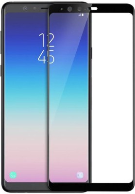 Binzokase Edge To Edge Tempered Glass for Samsung Galaxy A8 Star(Pack of 1)