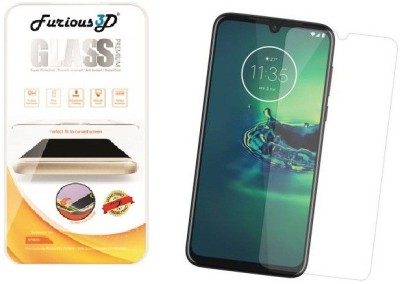 Furious3D Tempered Glass Guard for Motorola Moto G8 Plus(Pack of 1)