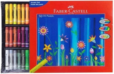 Faber-Castell 50 Oil Pastels(Assorted)