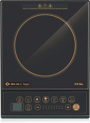 BAJAJ ICX NEO 1600 W Induction Cooktop(Black, Push Button)