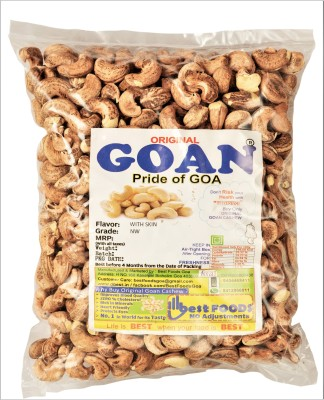 Original Goan with Skin Cashews(1 kg)