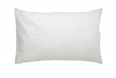 PumPum HardPillow Polyester Fibre Solid Sleeping Pillow Pack of 1  (White)