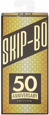 Mattel Skip Bo 50th Anniversary Edition Card Game Multicolor