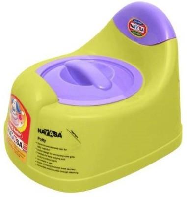 Nayasa Gold Dust Baby Traning Lid Potty Seat Potty Box Yellow Nayasa Potty Boxes