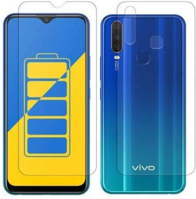 Fashion Way Front and Back Screen Guard for Vivo Y15, Vivo Y17, Vivo Y12, Vivo U10(Pack of 2)