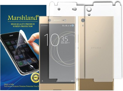 Marshland Front and Back Screen Guard for Sony Xperia XA1 Ultra Dual(Pack of 2)