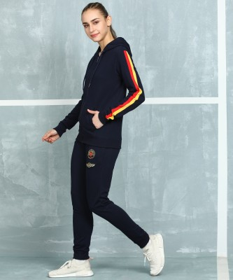 M7 By Metronaut Solid Women Track Suit