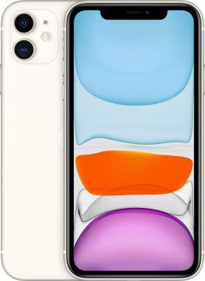 Apple iPhone 11 (White, 128 GB)