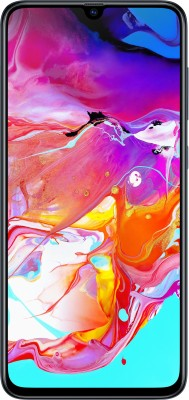 Samsung Galaxy A70 (Black, 128 GB)(6 GB RAM)