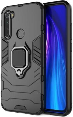 Wellpoint Back Cover for MI Redmi Note 8, Plain, Case, Cover(Black, Grip Case)
