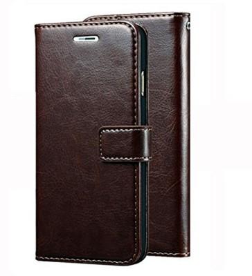 Ritzy Flip Cover for Mi Redmi Note 5 Pro(Coffee Brown)