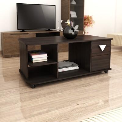 Crystal Furnitech Ormond Engineered Wood Coffee Table(Finish Color - Dark Elm)
