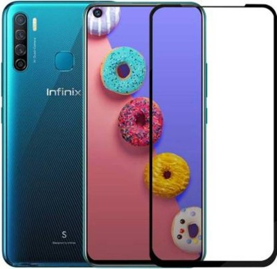 RVTCC Edge To Edge Tempered Glass for Infinix S5, Infinix S5 Lite(Pack of 1)