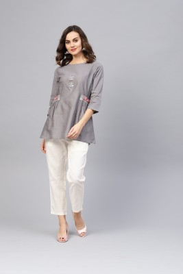 Indo Era Women Kurta and Trousers Set