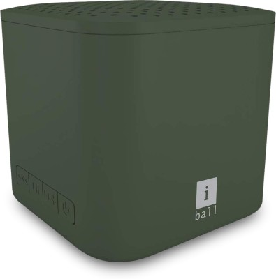 iBall Musi Cube X1 3 W Bluetooth Speaker(Green, Stereo Channel)