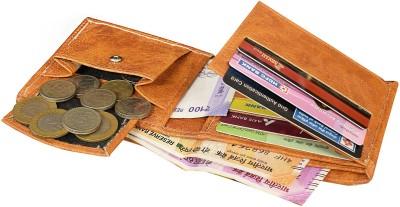 MATSS Men Wallet||Travel Document Holder||Card Holder 7 Card Holder(Set of 1, Tan)