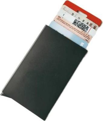 Mundkar 6 Card Holder(Set of 1, Black)