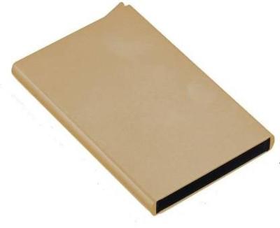 FERRET 7 Card Holder(Set of 1, Gold)
