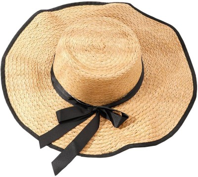 InOne Straw Hats(Brown, Pack of 1)