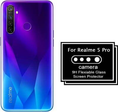 Roxel Camera Lens Protector for Realme 5 Pro(Pack of 2)