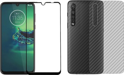 Karpine Front and Back Screen Guard for Motorola Moto G8 Plus(Pack of 2)