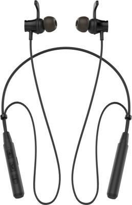 Portronics Harmonics 222 Bluetooth Headset with Mic(Black, In the Ear)