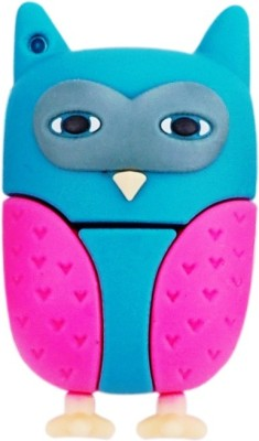 Pankreeti Owl 8  GB Pen Drive Multicolor