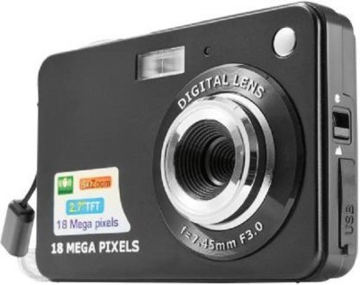 Hypex 1 18MP Point and Shoot Digital Camera(18 MP, 8x Optical Zoom, 8x Digital Zoom, Black)