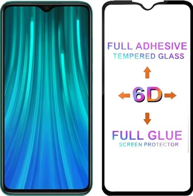 NUCOSMO Edge To Edge Tempered Glass for Xiaomi Redmi Note 8 Pro, Redmi Note 8 Pro, MI Note 8 Pro, 11D Tempered Glass(Pack of 1)