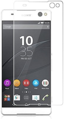 MudShi Tempered Glass Guard for Sony Xperia C5 Ultra(Pack of 1)