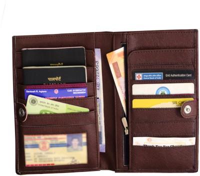 MATSS Men Wallet || Wallet || Card Holder 3 Card Holder(Set of 1, Brown)